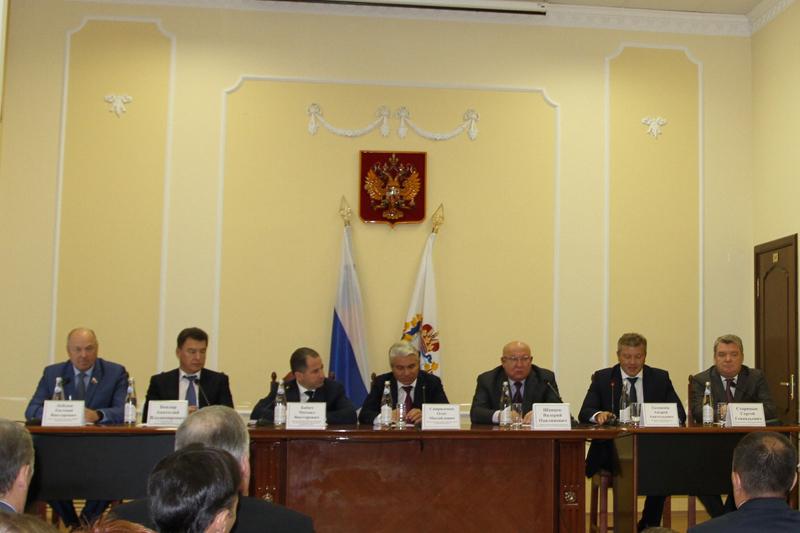 Вступление в должность председателя суда округа