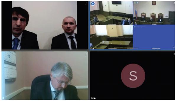 Участникам судопроизводства доступны онлайн-заседания